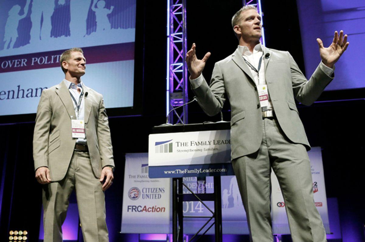 David Benham, Jason Benham   (AP/Charlie Neibergall)