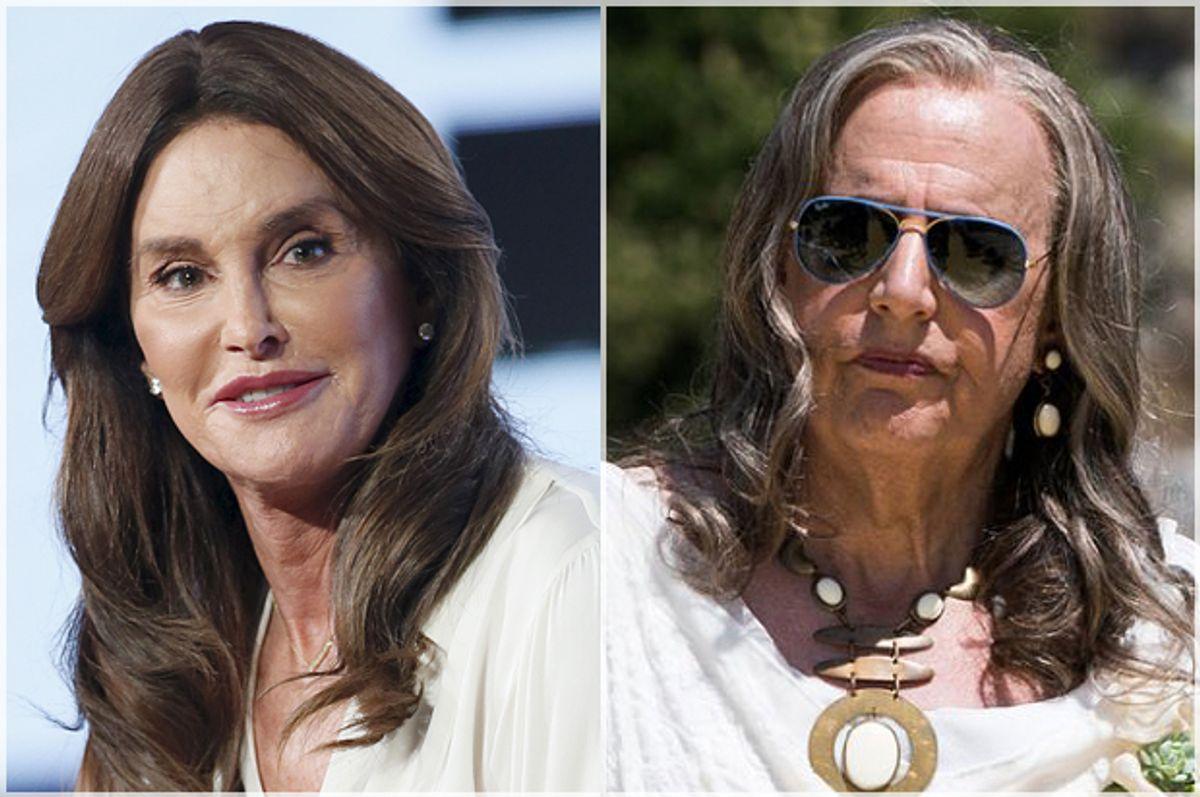 "Caitlyn Jenner, Jeffrey Tambor in ""Transparent""   (Reuters/Danny Moloshok/Amazon)"