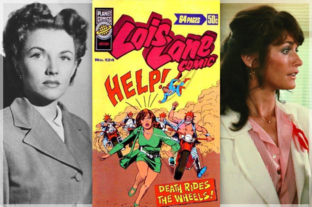 Phyllis Coates; Margot Kidder as Lois Lane