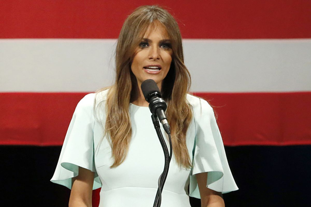 Melania Trump   (AP/Charles Rex Arbogast)