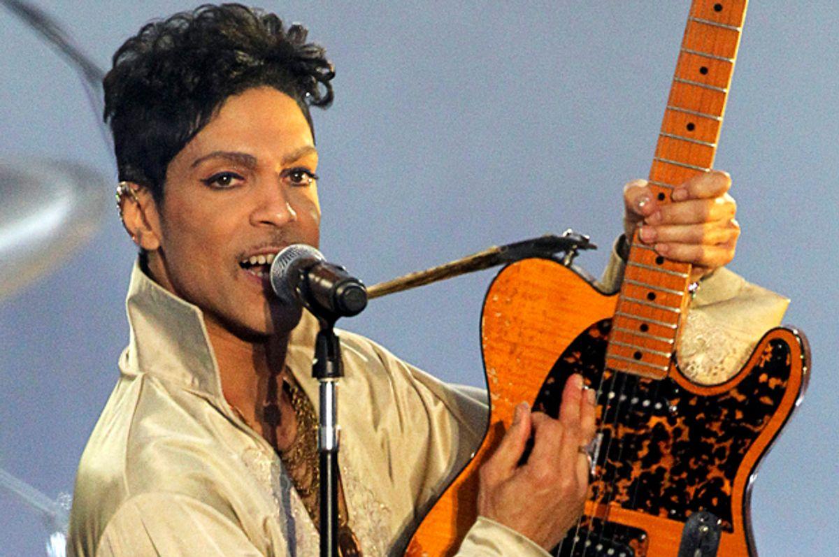 Prince   (Reuters/Olivia Harris)