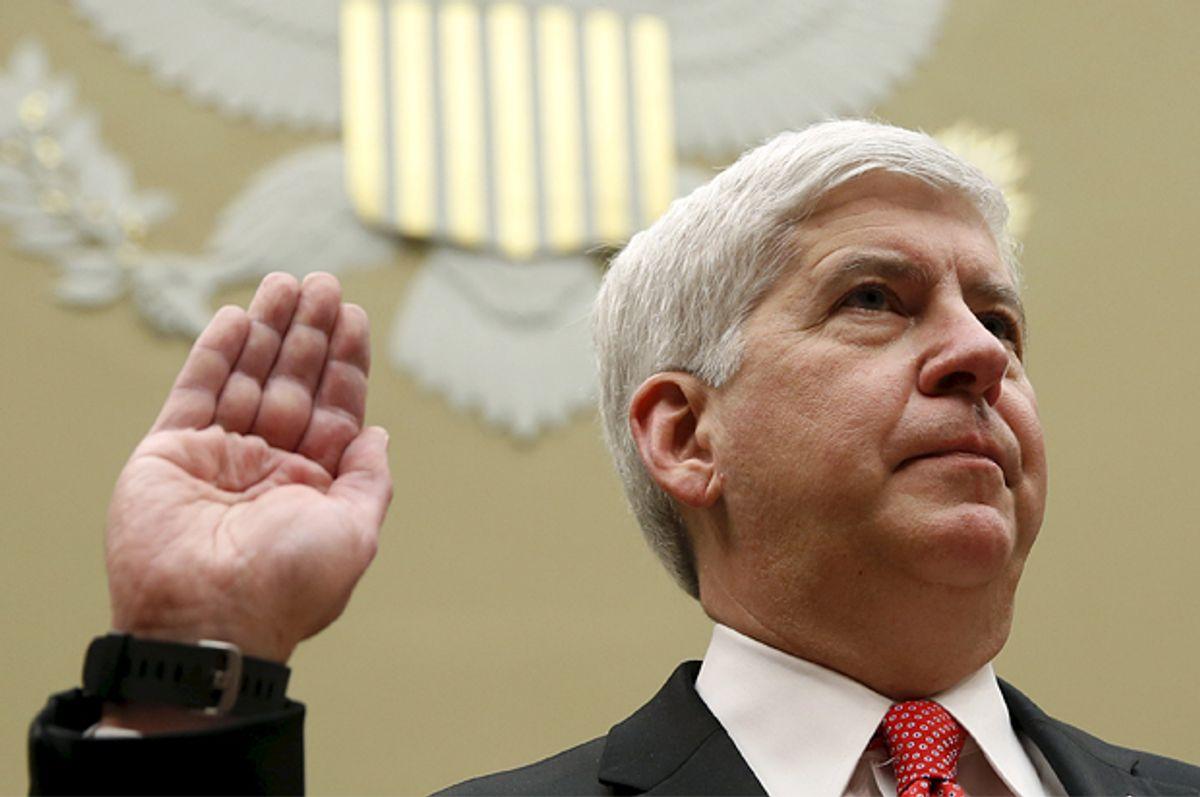 Rick Snyder   (Reuters/Kevin Lamarque)