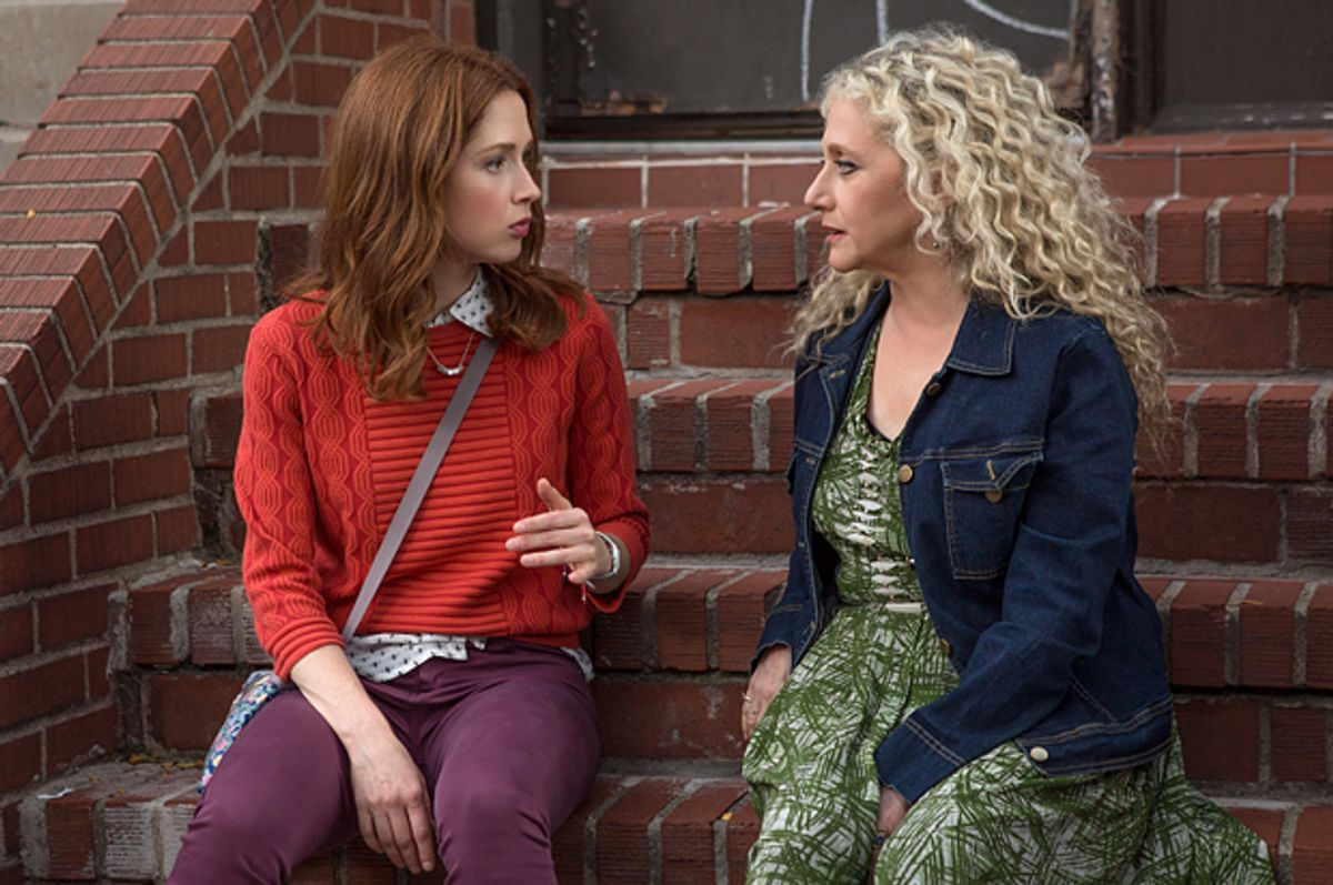 "Ellie Kemper and Carol Kane in ""Unbreakable Kimmy Schmidt""   (Netflix/Eric Liebowitz)"