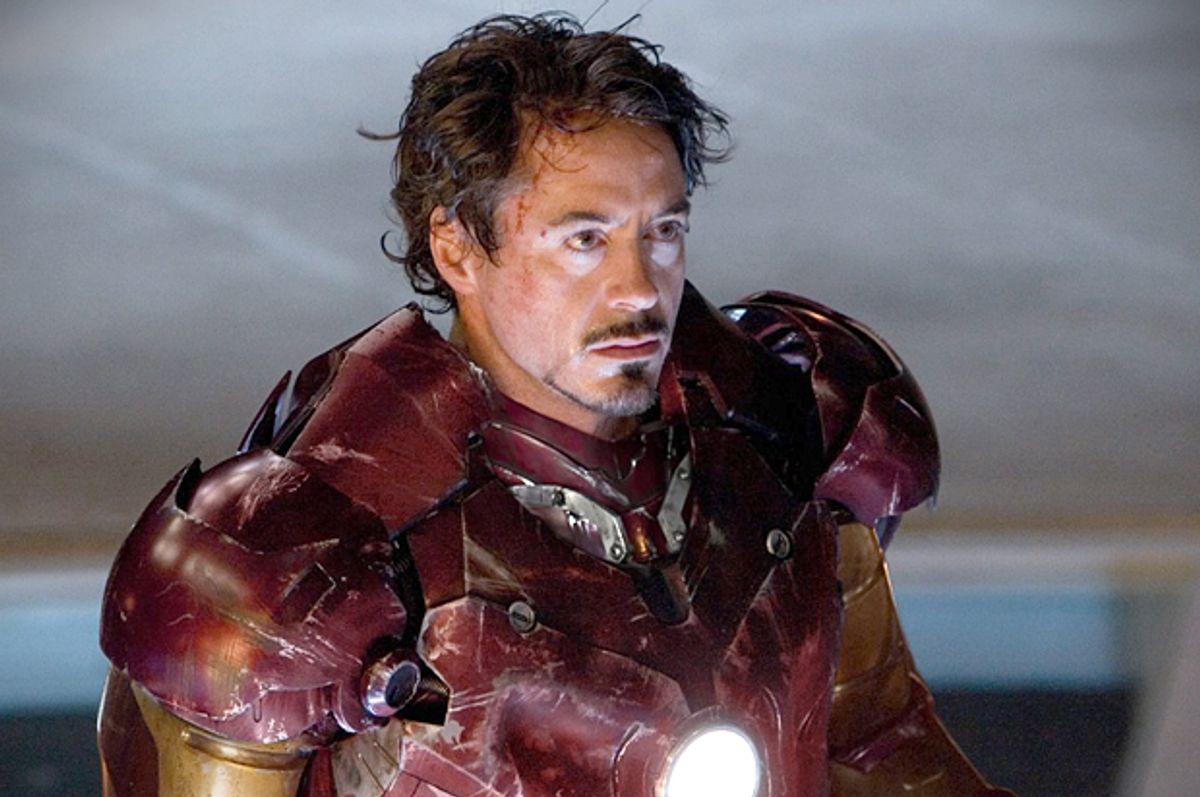 Robert Downey Jr. as Iron Man (Marvel)