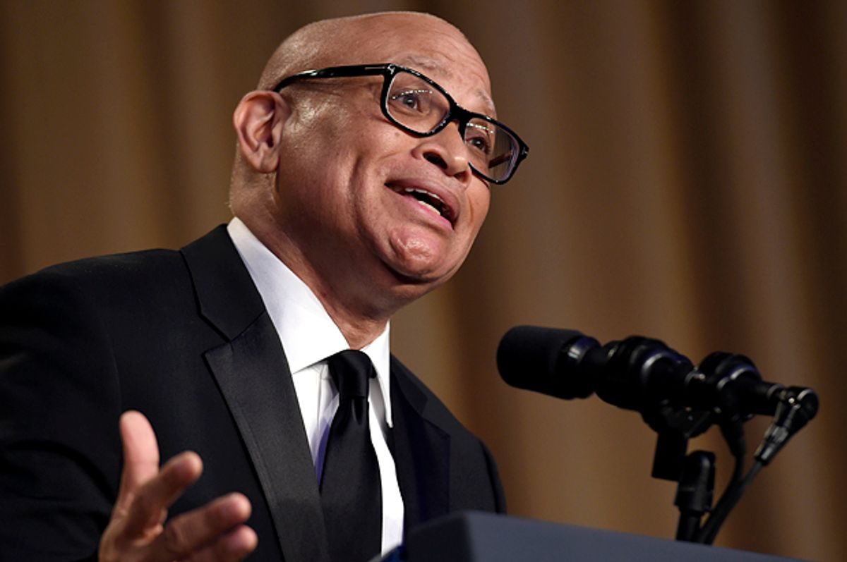 Larry Wilmore speaks at the White House Correspondents' Association dinner, April 30, 2016.   (AP/Susan Walsh)