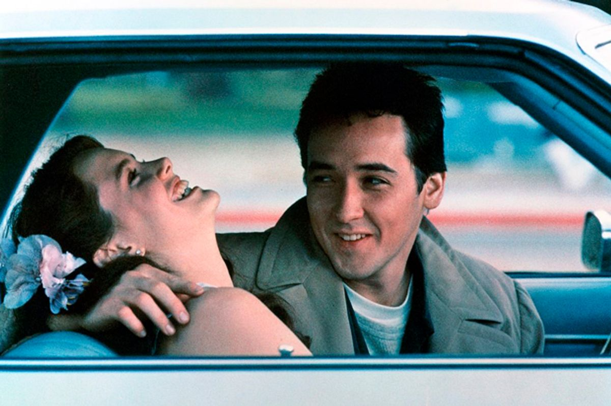 """Ione Skye and John Cusack in """"Say Anything...""""   (20th Century Fox)"""