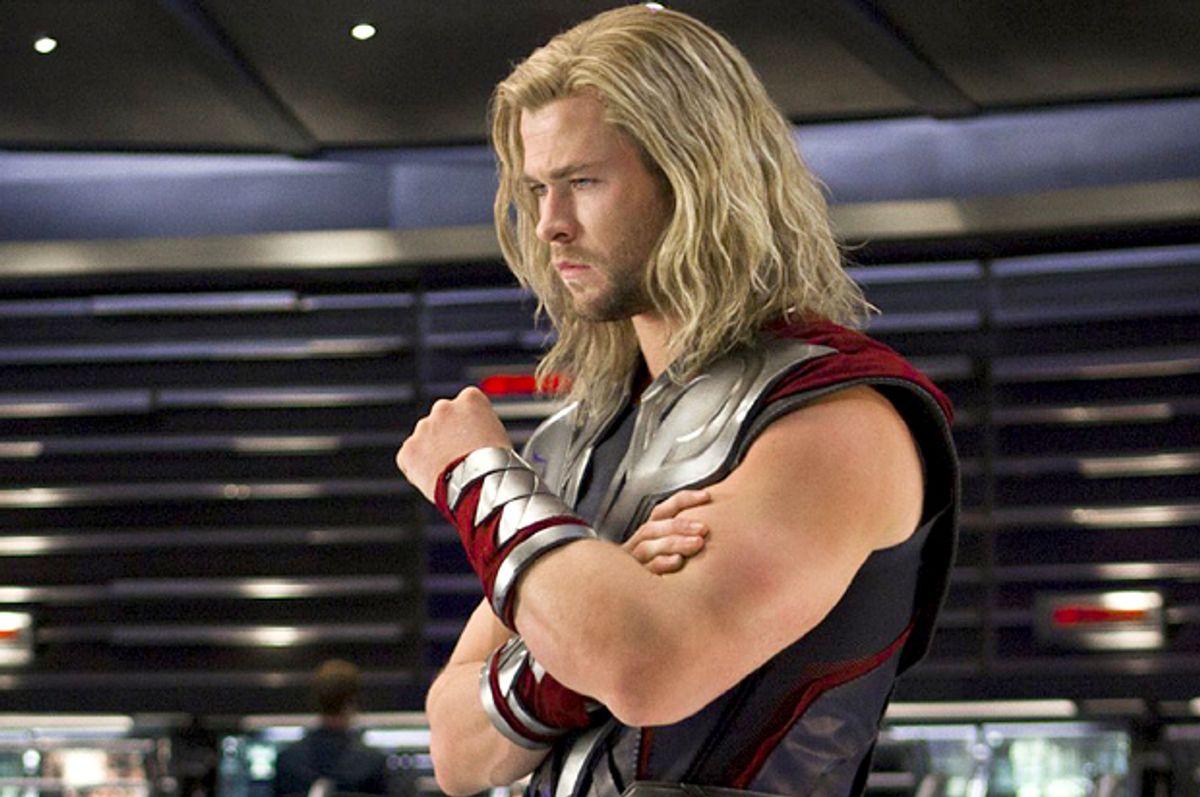 """Chris Hemsworth as Thor in """"The Avengers""""   (Marvel)"""