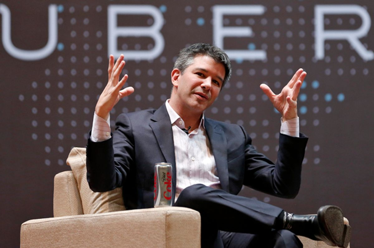 Uber CEO Travis Kalanick   (Reuters/Danish Siddiqui)