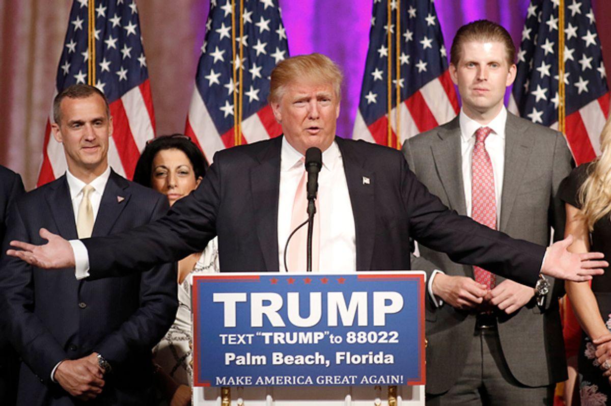 Donald Trump   (Reuters/Joe Skipper)