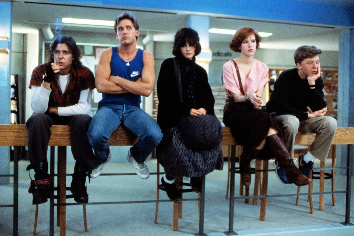 "Scene still from ""The Breakfast Club"" (©universal/courtesy Everett / Ev)"