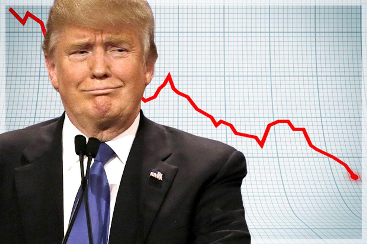 Donald Trump   (AP/Carlos Osorio/<a href='http://www.shutterstock.com/gallery-79400p1.html'>Kutlayev Dmitry</a> via <a href='http://www.shutterstock.com/'>Shutterstock</a>/Salon)