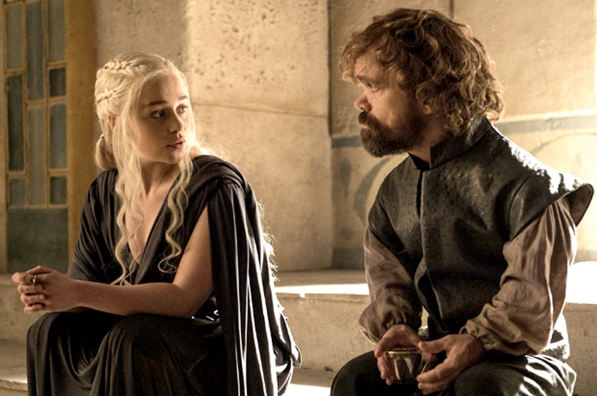 """Emilia Clarke and Peter Dinklage in """"Game of Thrones""""   (HBO)"""
