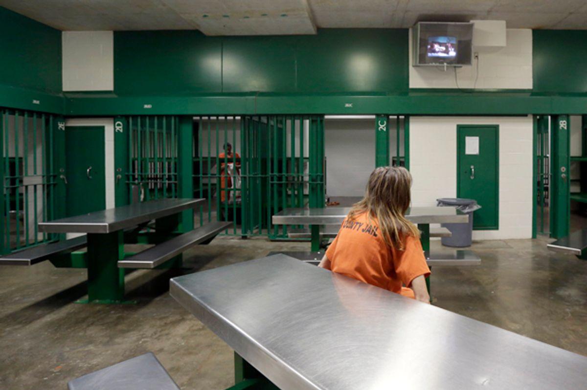 The Harris County Jail in Houston.   (AP/Eric Gay)