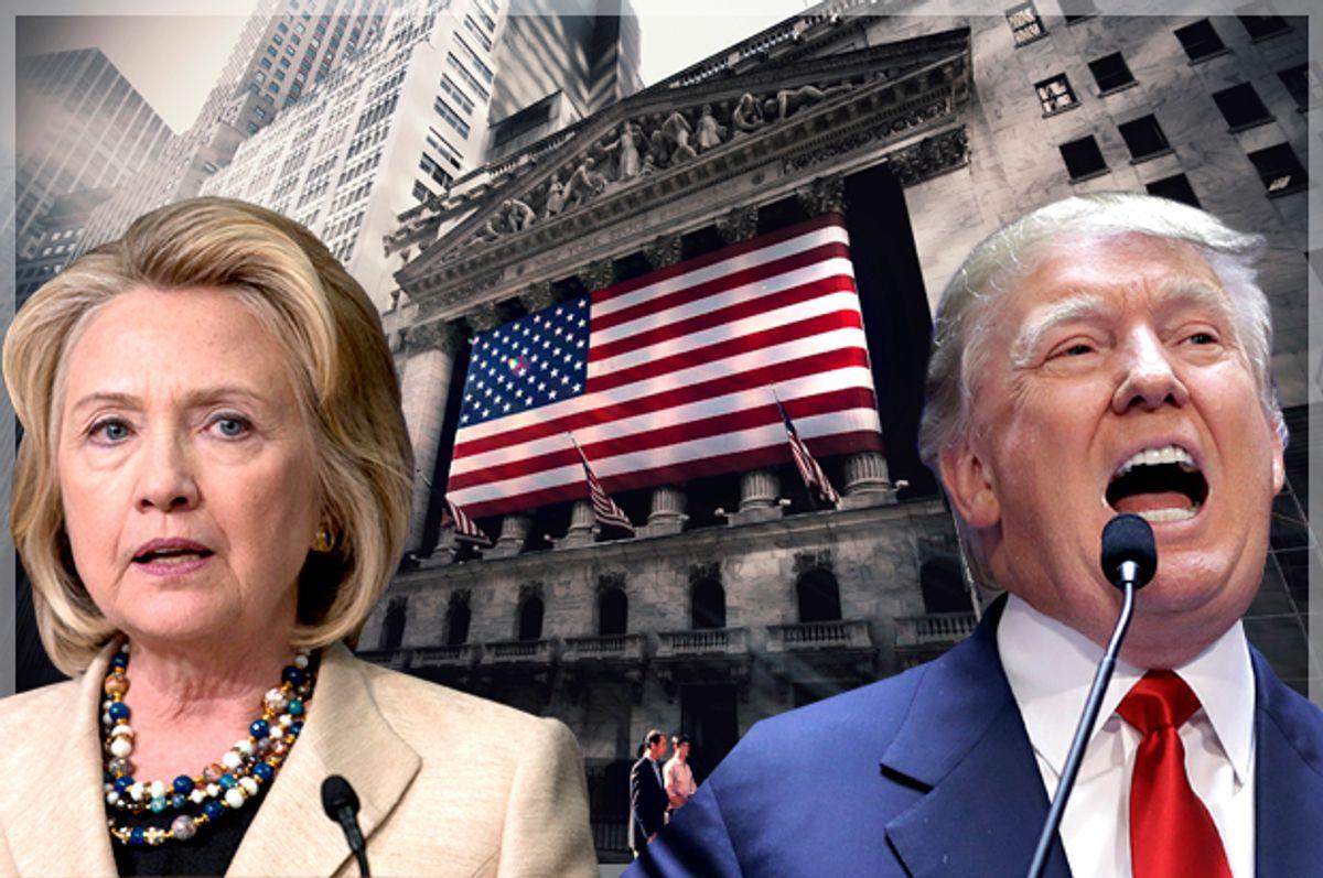 Hillary Clinton, Donald Trump   (Reuters/Carlo Allegri/Brendan McDermid/Shutterstock/Salon)