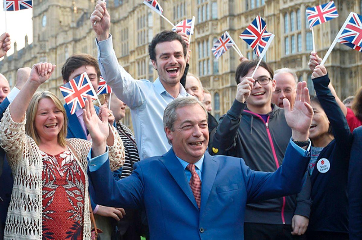 Nigel Farage   (Reuters/Toby Melville)