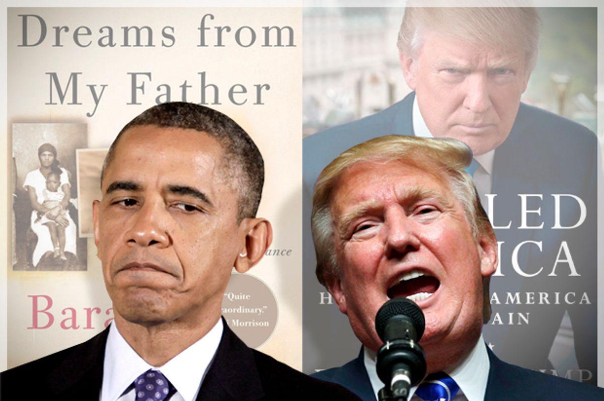 Barack Obama, Donald Trump   (Reuters/Yuri Gripas/Brian Snyder/Salon)
