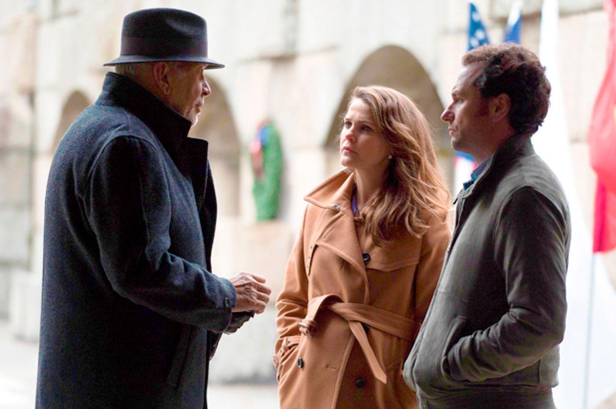 "Frank Langella, Keri Russell and Matthew Rhys in ""The Americans""   (FX/Ali Goldstein)"