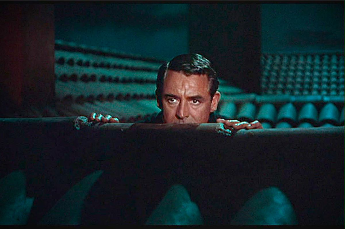 """Cary Grant in """"To Catch A Thief"""""""
