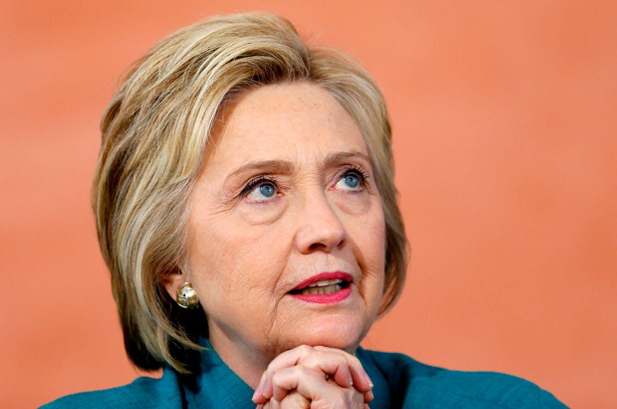 Hillary Clinton   (Reuters/Mike Blake)