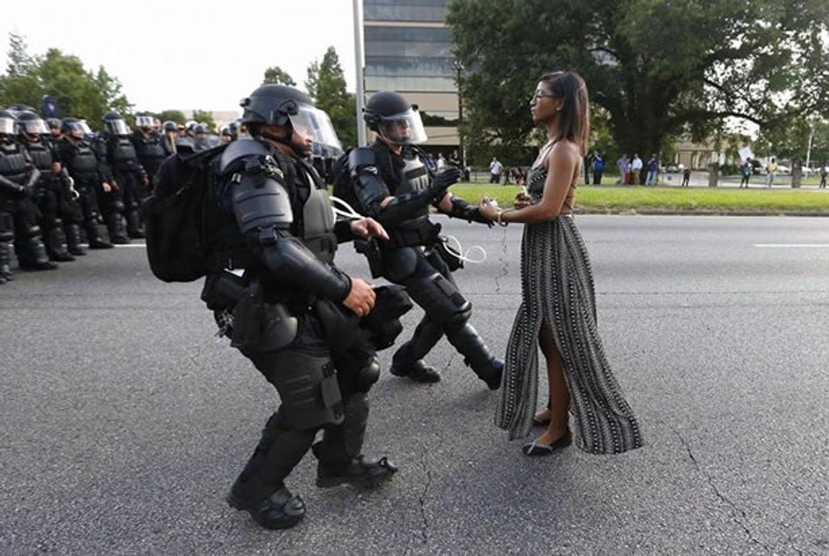 Iesha Evans (Jonathan Bachman/Reuters)