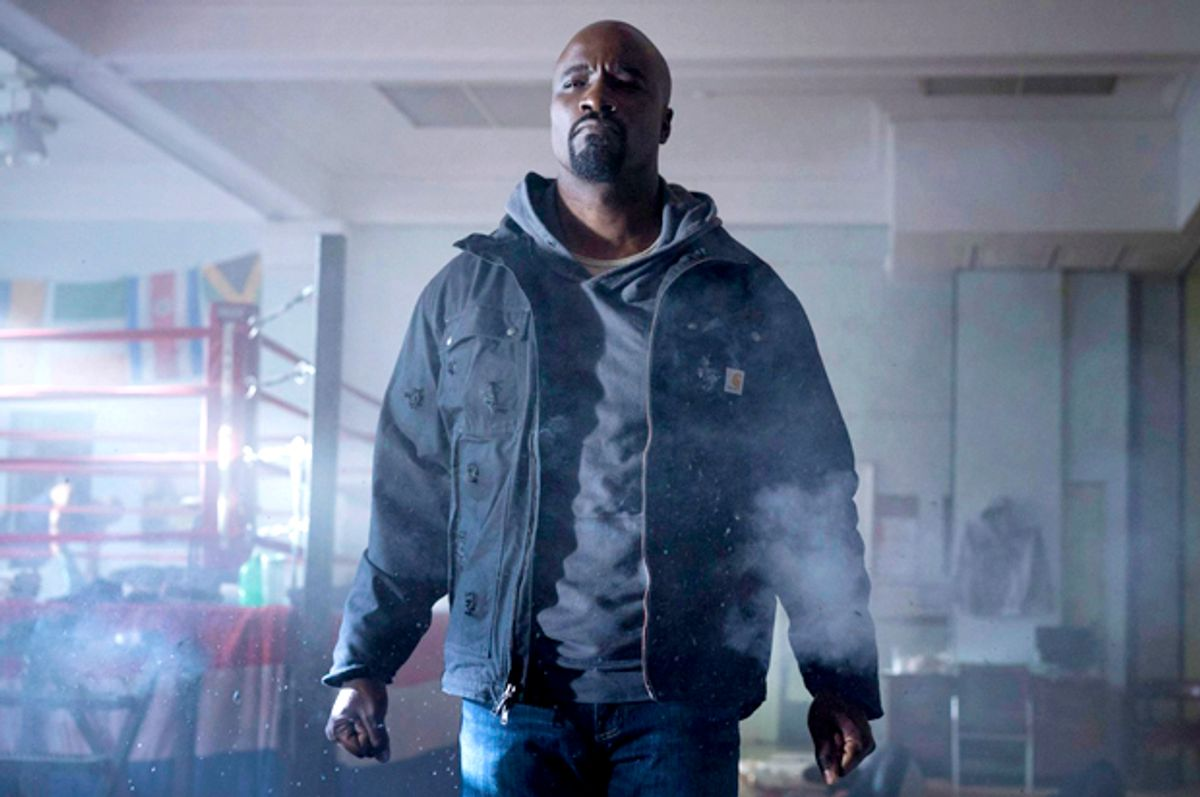 """Mike Colter in """"Luke Cage""""   (Netflix)"""