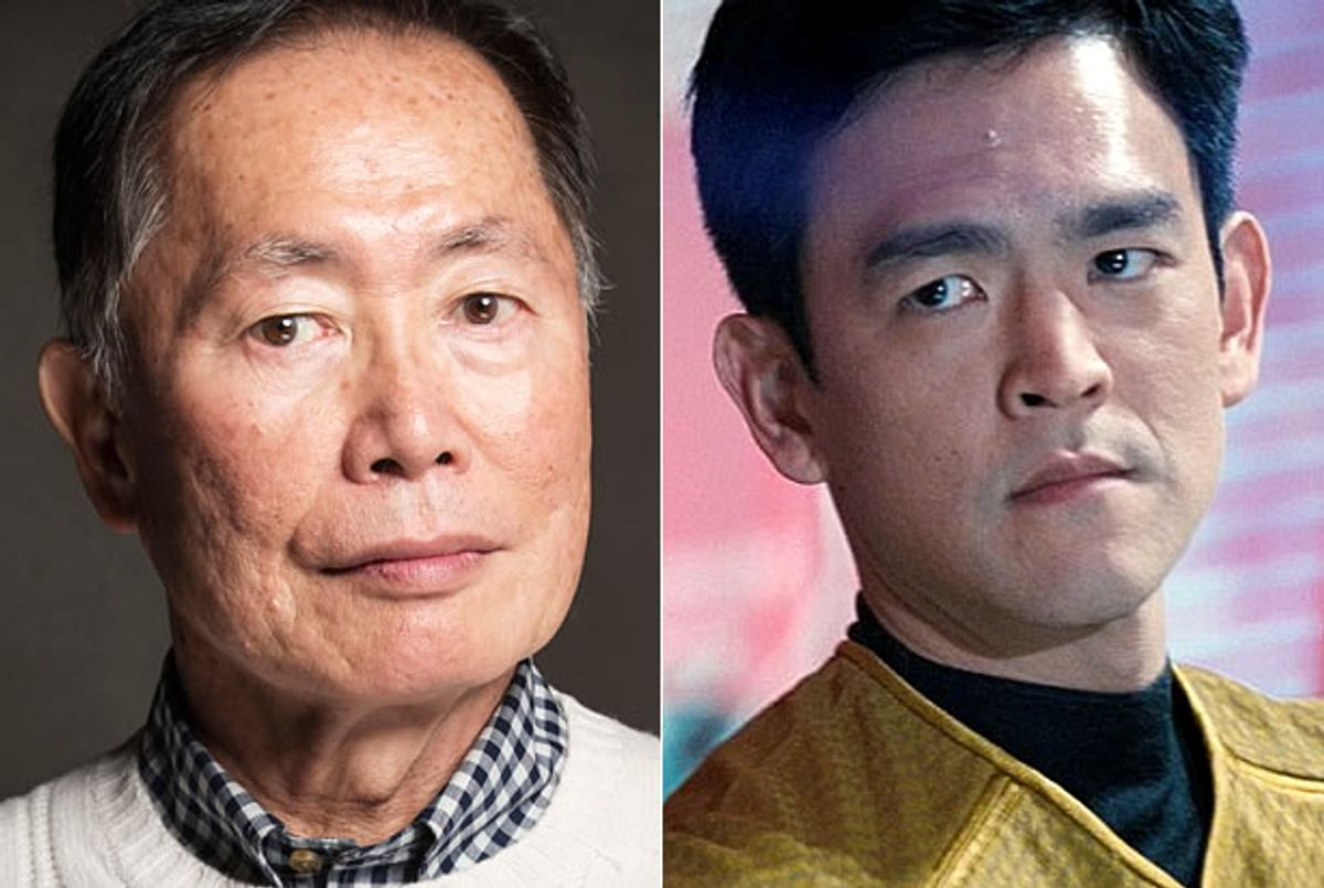 George Takei, John Cho (AP/Victoria Will, Paramount Pictures)