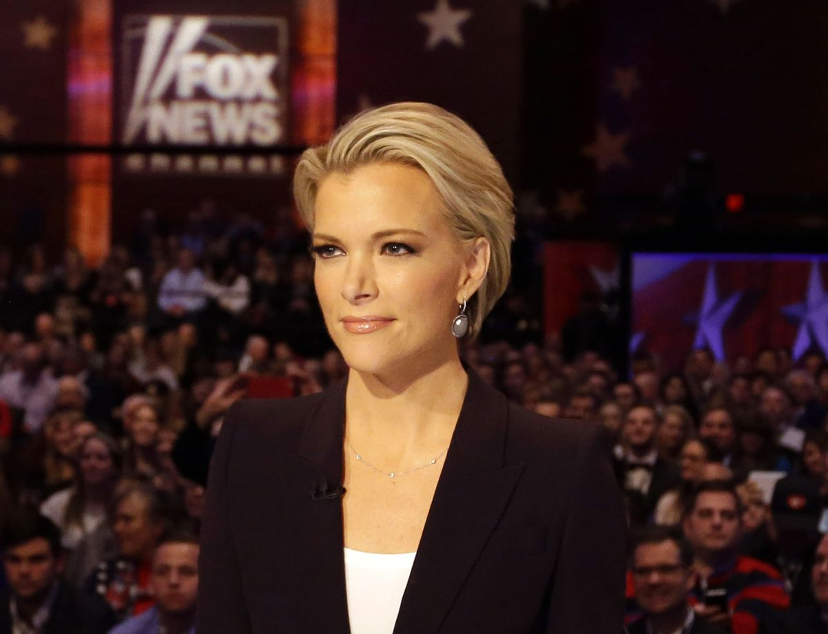 FILE - In this Jan. 28, 2016 photo, Moderator Megyn Kelly waits for the start of the Republican presidential primary debate in Des Moines, Iowa.  (AP)