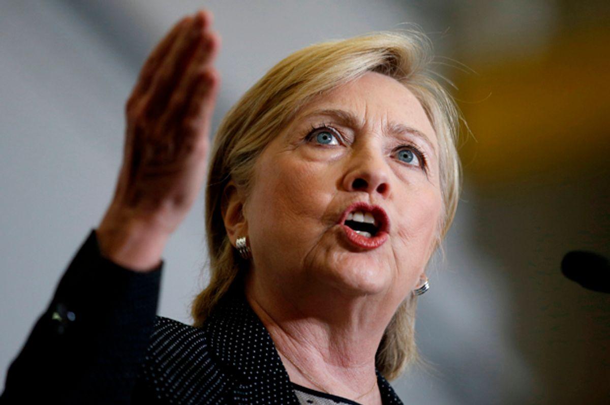 Hillary Clinton   (Reuters/Chris Keane)