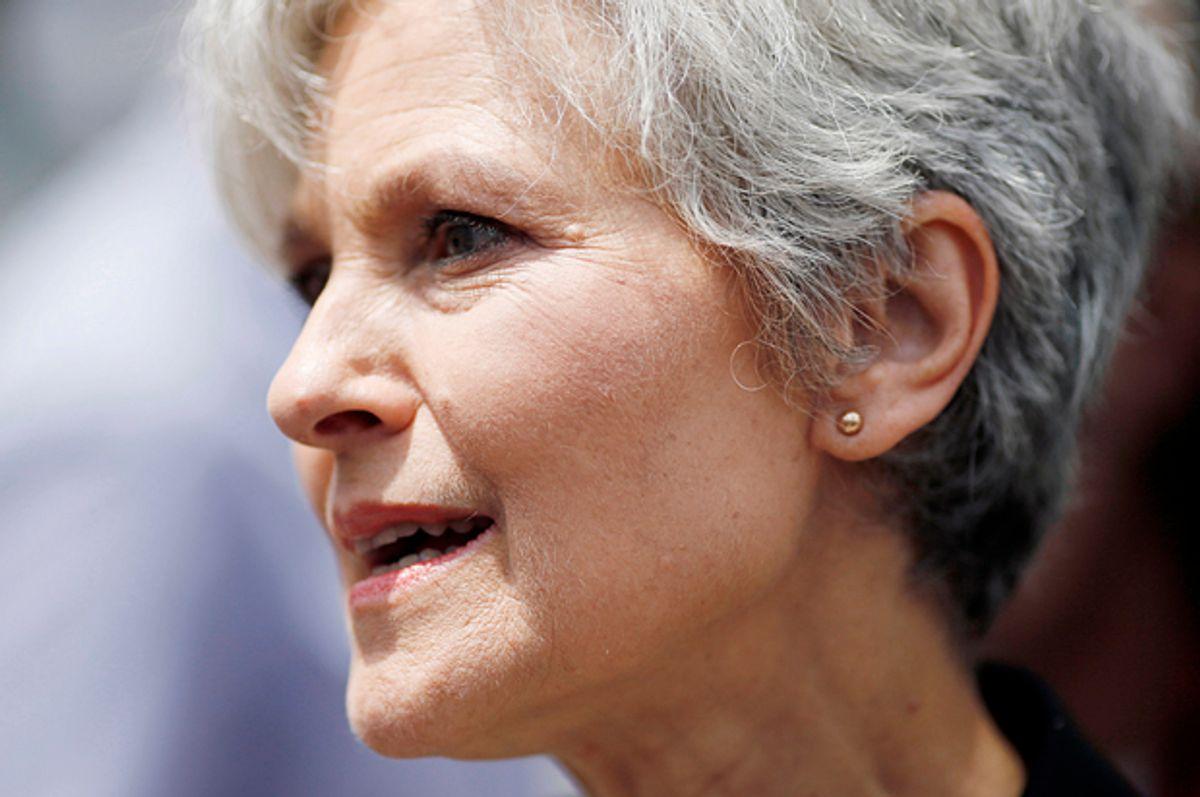 Jill Stein   (Reuters/Dominick Reuter)