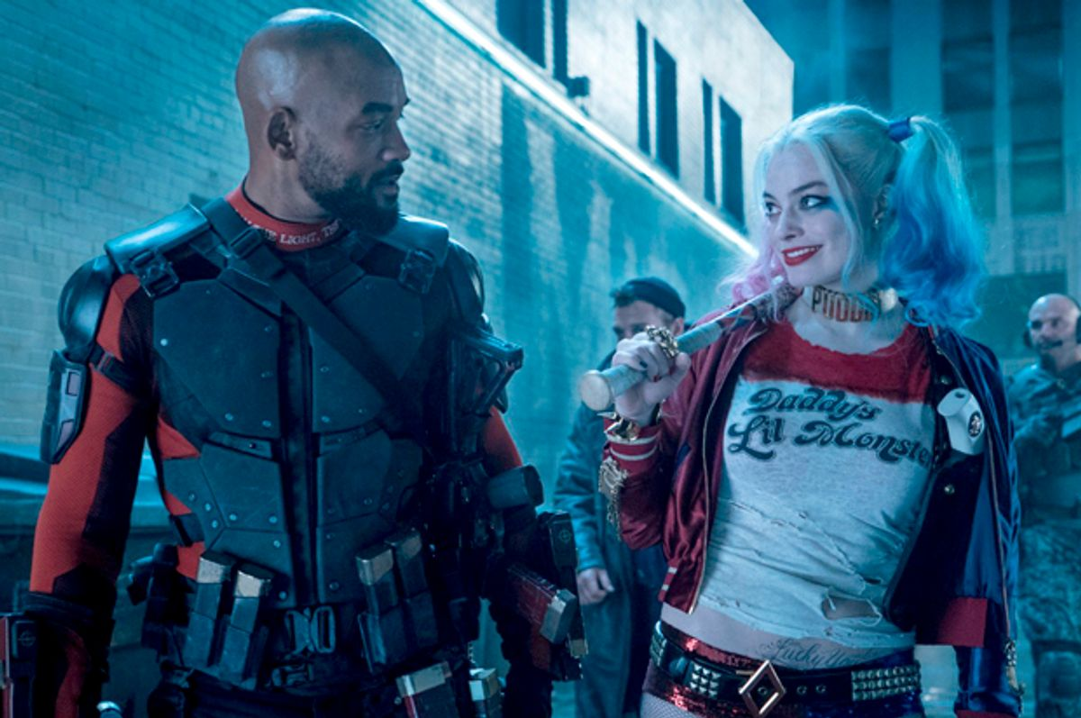 """Will Smith and Margot Robbie in """"Suicide Squad""""   (DC Entertainment)"""