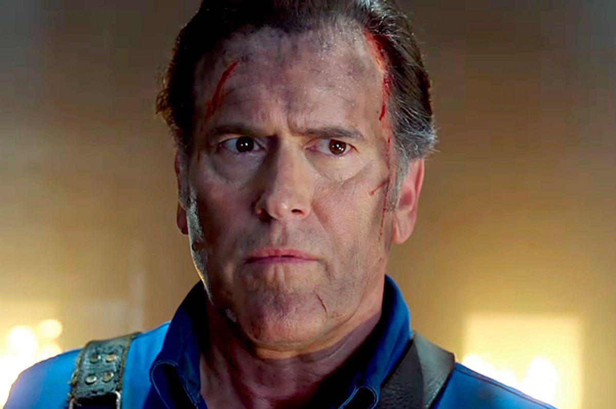 """Bruce Campbell in """"Ash vs Evil Dead""""   (Starz)"""