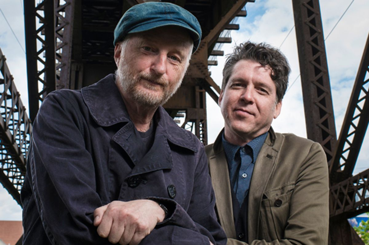 Billy Bragg and Joe Henry   (Jacob Blickenstaff)