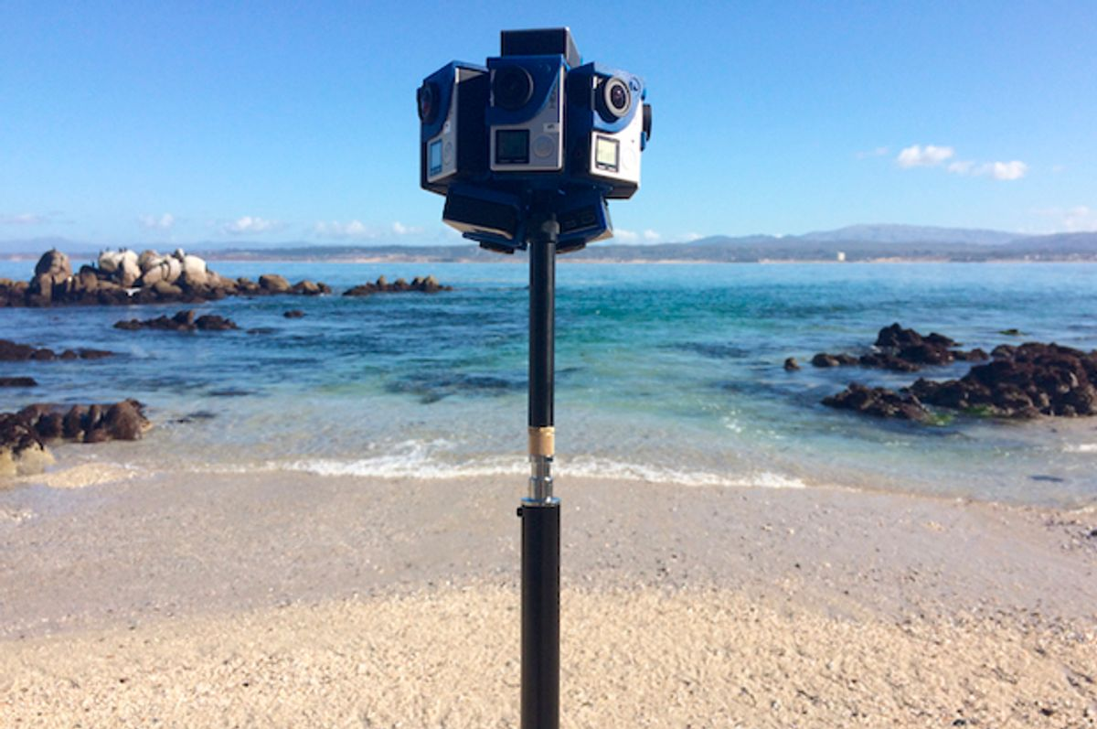 """Filming for """"The Crystal Reef"""" in Monterey, CA.    (Cody Karutz)"""