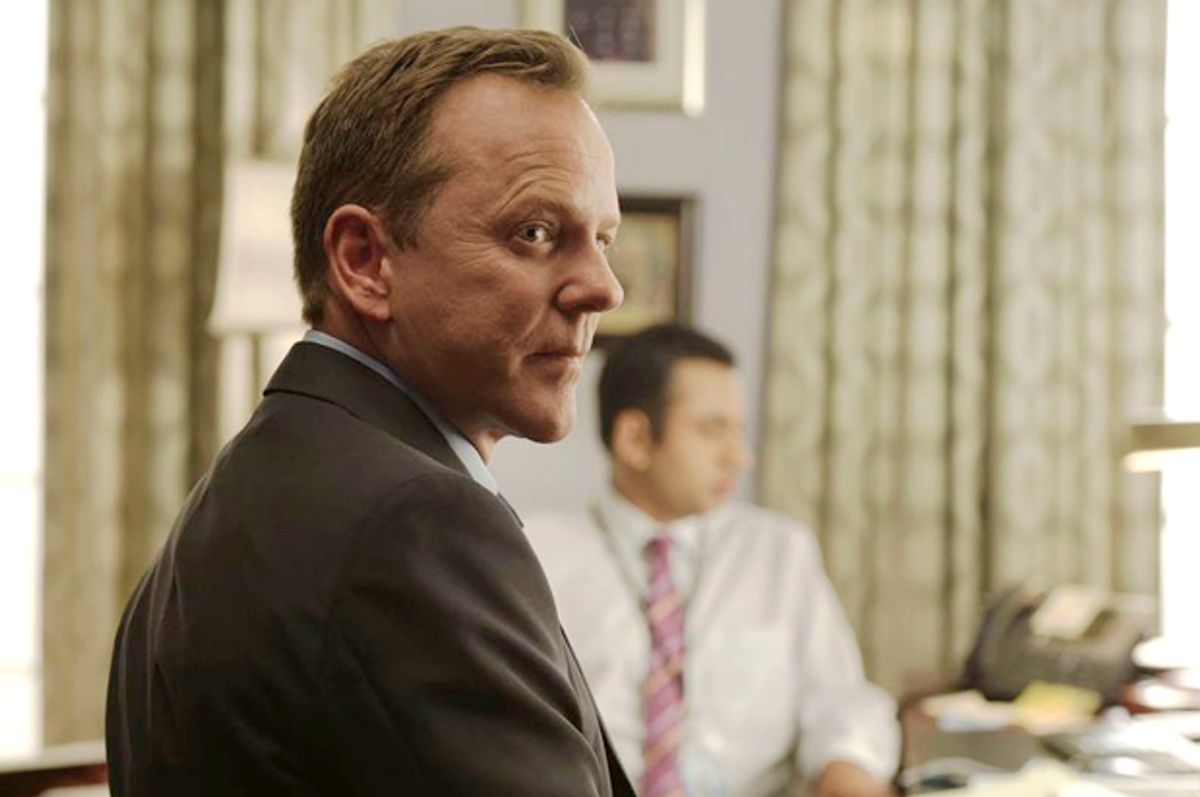 "Kiefer Sutherland in ""Designated Survivor""   (ABC)"