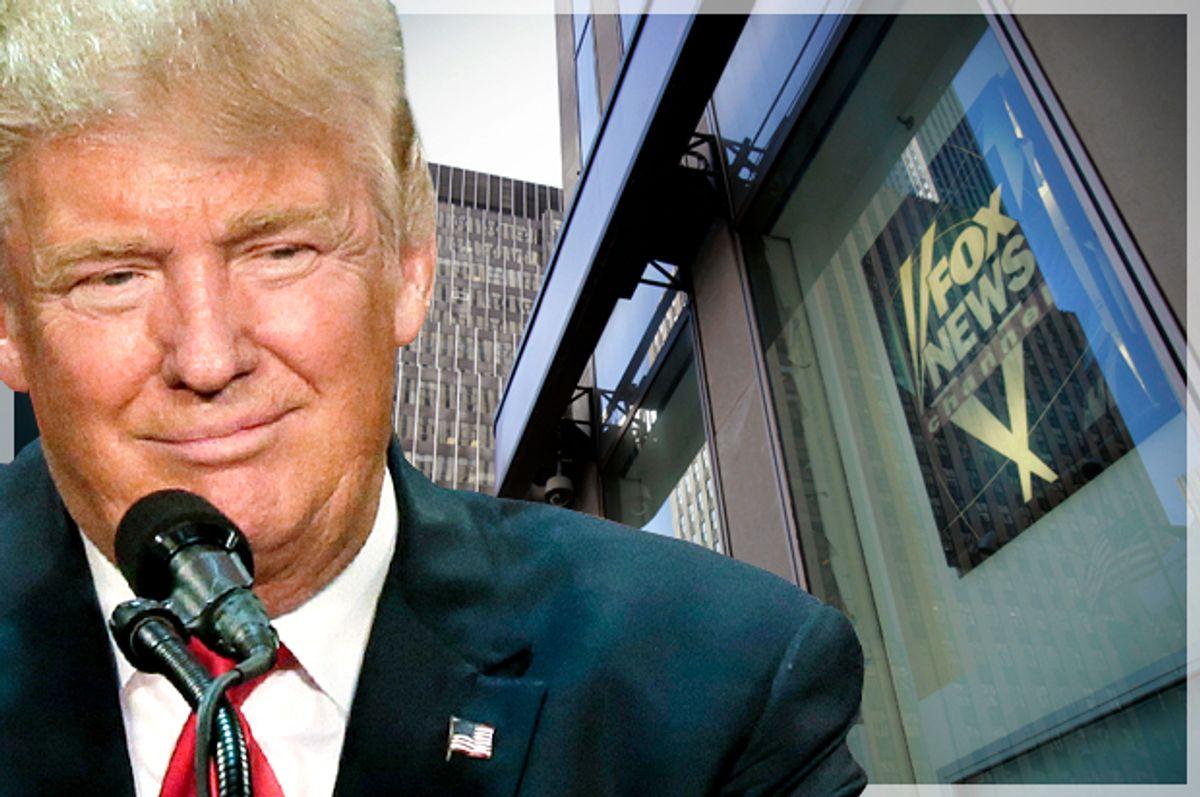 Donald Trump   (AP/David Furst/Getty/Stan honda/Photo montage by Salon)