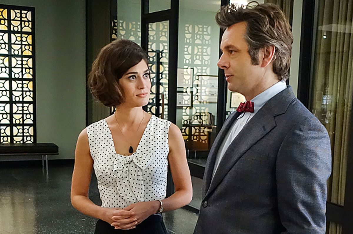 """Lizzy Caplan and Michael Sheen in """"Masters of Sex""""   (Showtime)"""