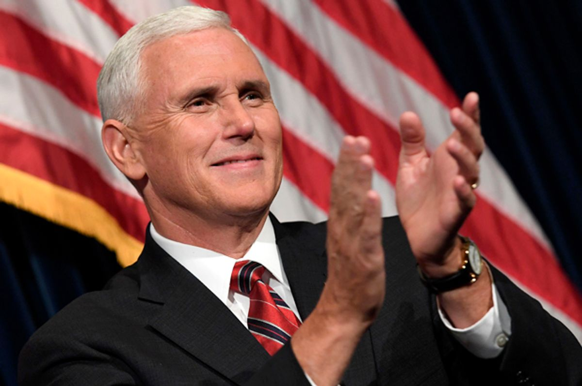 Mike Pence   (Getty/Mark Ralston)