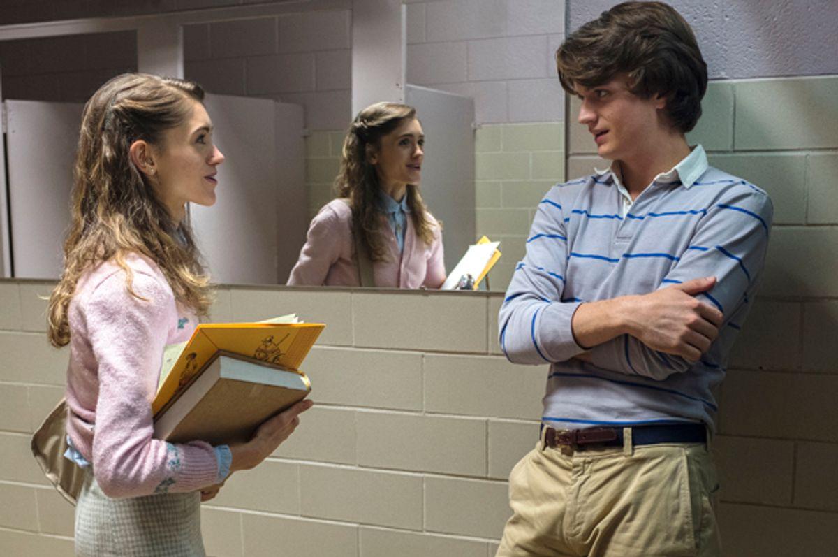 "Natalia Dyer and Joe Keery in ""Stranger Things""   (Netflix)"