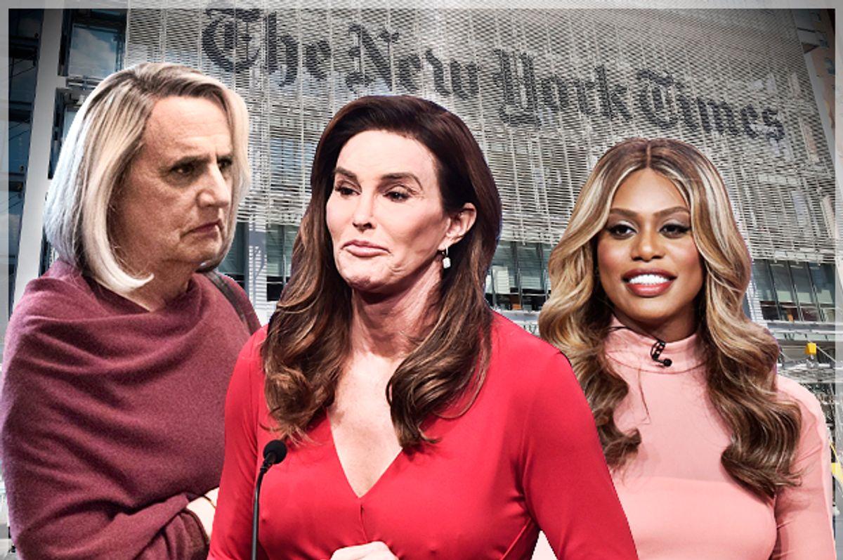 "Jeffrey Tambor in ""Transparent;"" Caitlyn Jenner; Laverne Cox   (Amazon/Getty/Salon)"