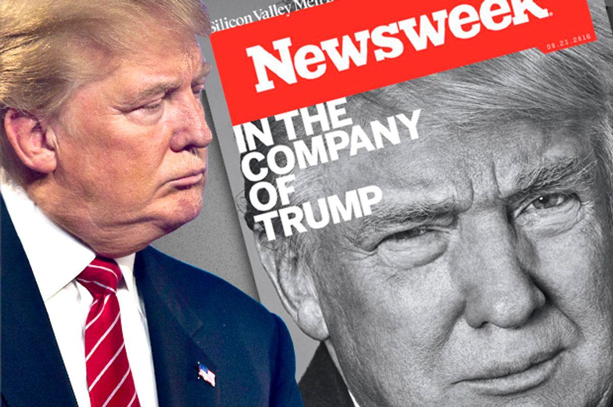 Donald Trump   (Reuters/L.E. Baskow/Newsweek/Salon)
