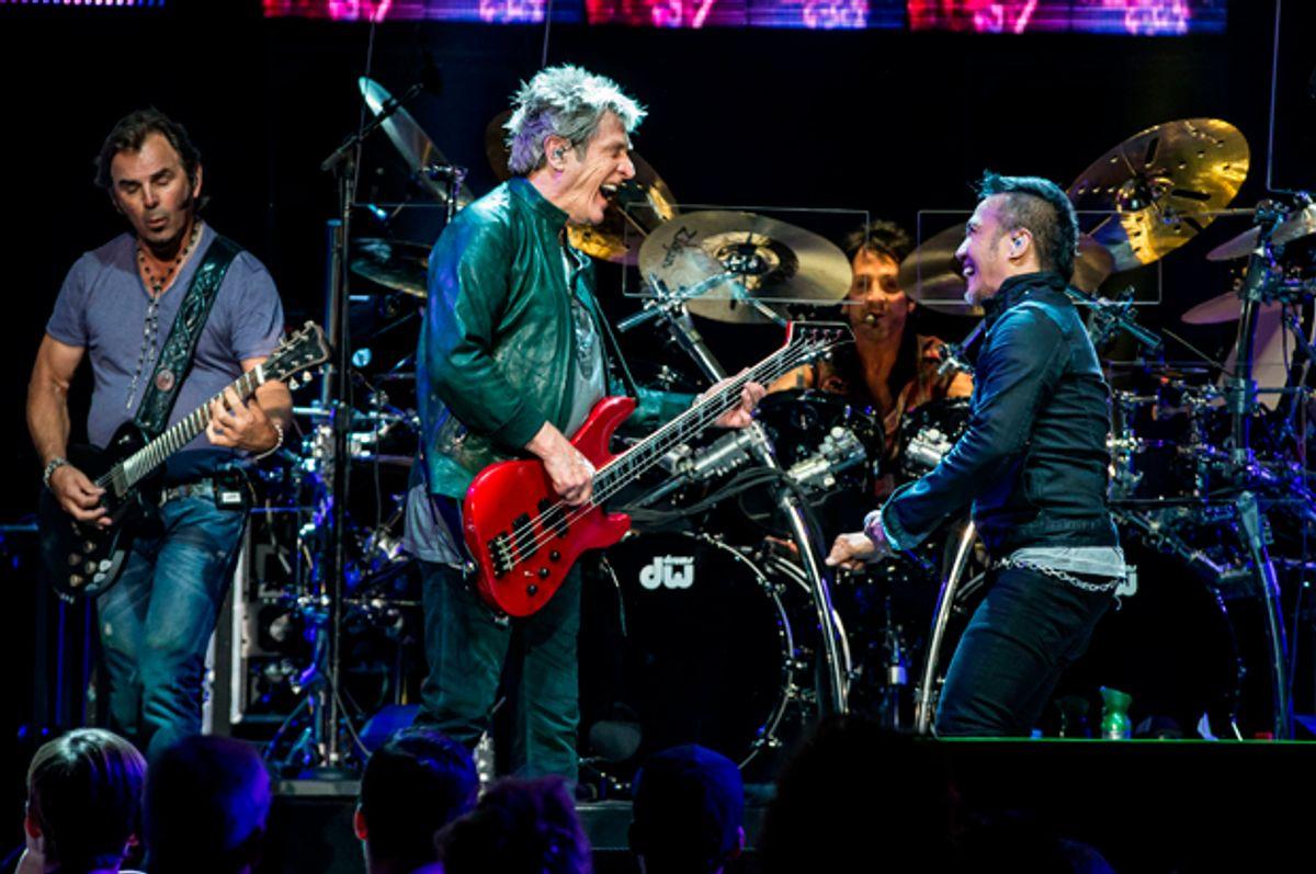 Journey at The Joint at Hard Rock Hotel in Las Vegas, NV   (AP/Erik Kabik)
