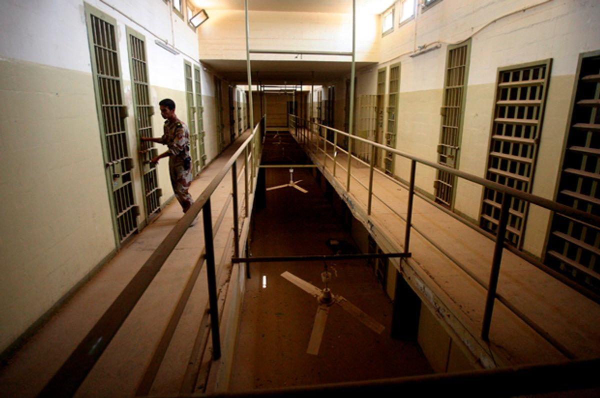 The Abu Ghraib prison, Baghdad, Iraq, Sept. 2, 2006.   (AP/Khalid Mohammed)