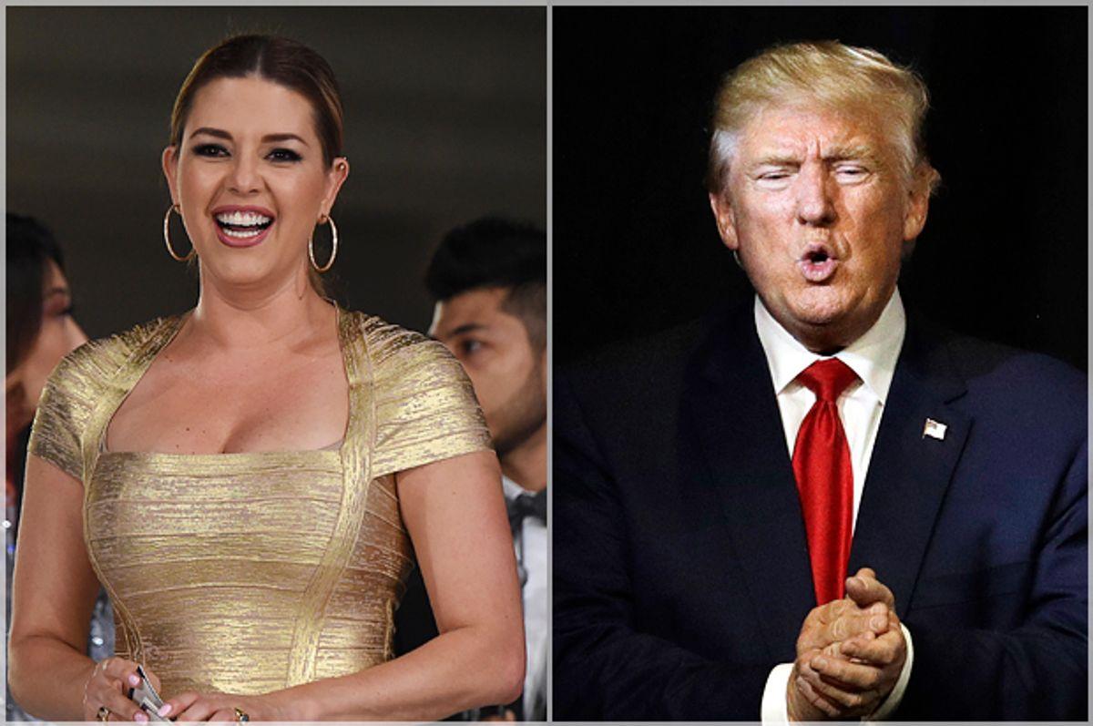 Alicia Machado; Donald Trump   (Getty/Robyn Beck/AP/John Locher)