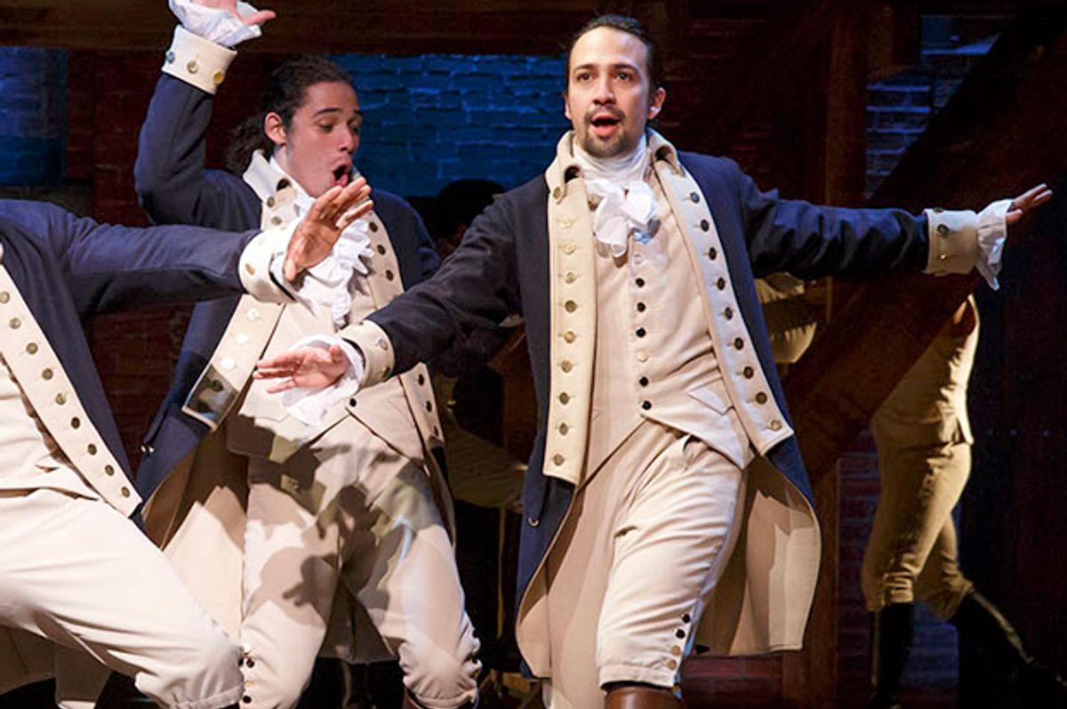"Lin-Manuel Miranda in ""Hamilton's America""   (PBS/Joan Marcus)"