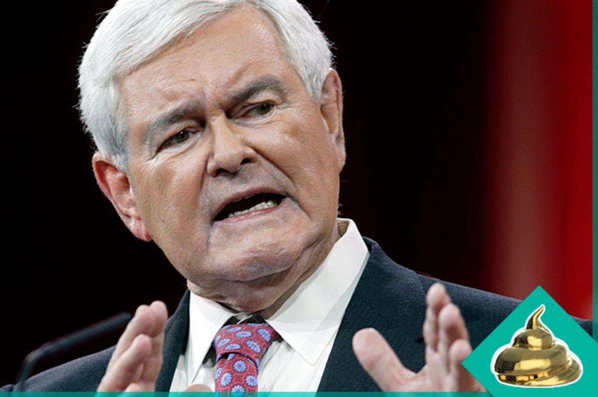 Newt Gingrich   (Reuters/Kevin Lamarque/Salon)