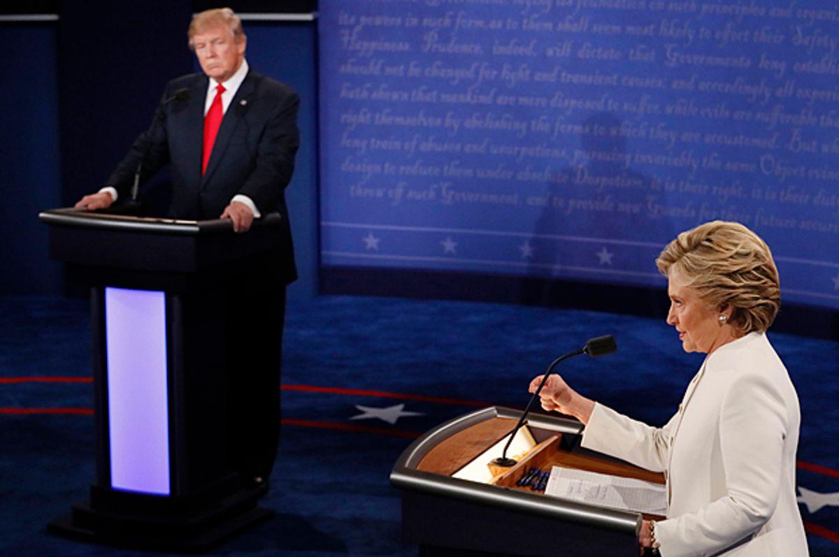 Donald Trump, Hillary Clinton   (Reuters/Mark Ralston)