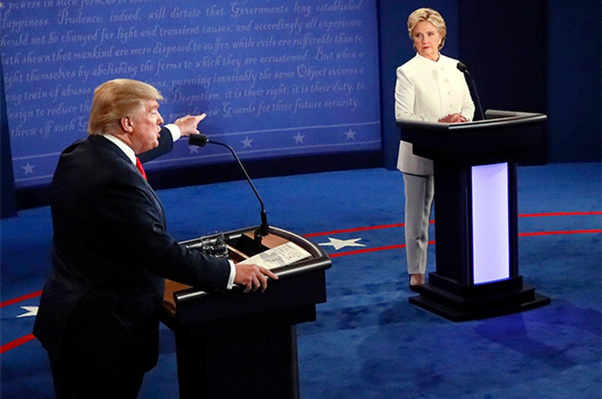 Donald Trump, Hillary Clinton   (AP/Mark Ralston)
