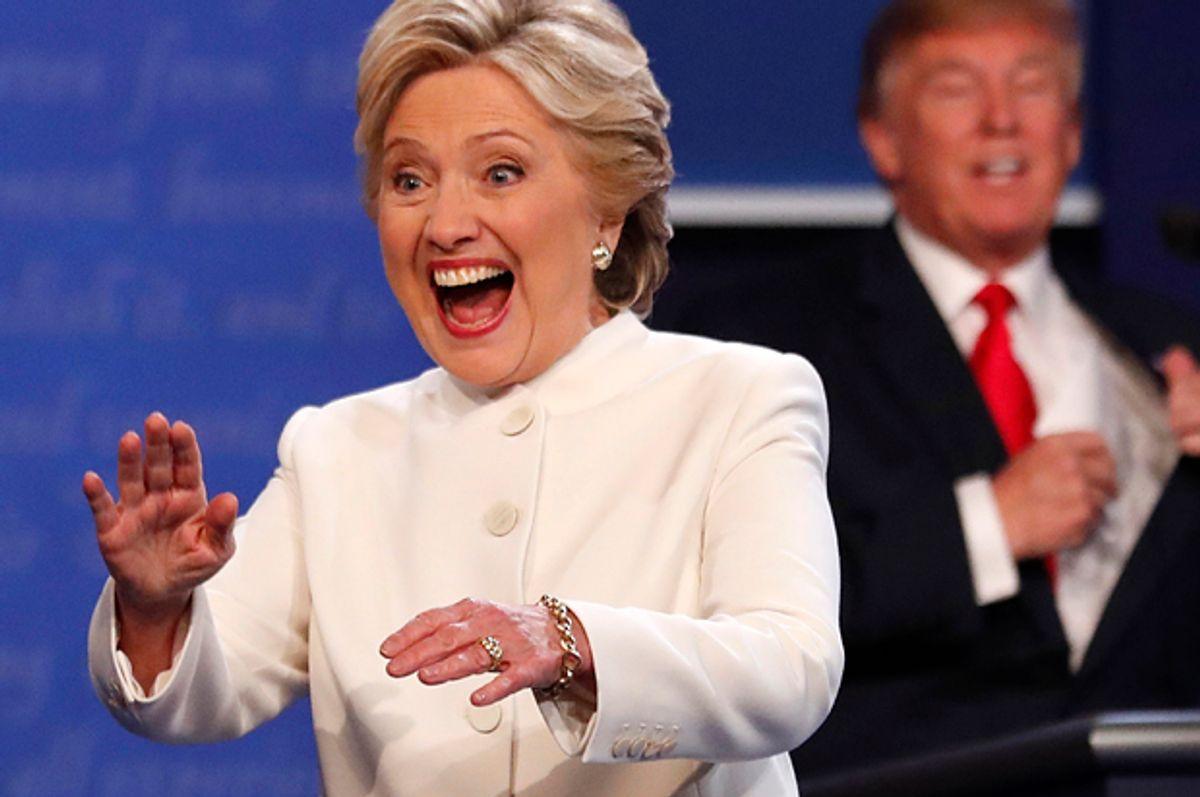 Hillary Clinton, Donald Trump   (Reuters/Mike Blake)