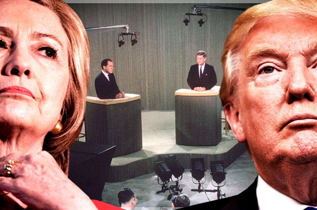 Hillary Clinton; Richard Nixon; John F. Kennedy; Donald Trump   (AP/Andrew Harnik/Richard Shiro/Salon)