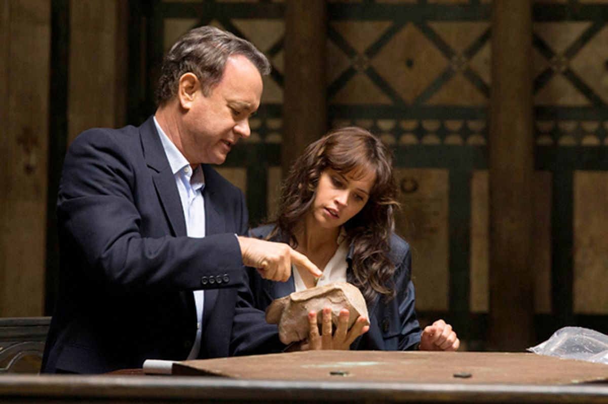 "Tom Hanks and Felicity Jones in ""Inferno""   (Columbia Pictures)"